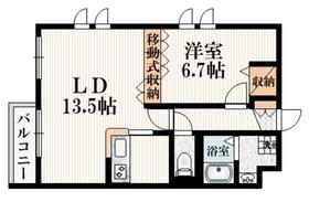 レッドパイン3階Fの間取り画像
