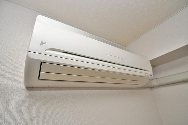 アリーヴェデルチ小阪 エアコンがあるのはうれしいですね。ちょっぴり得した気分。