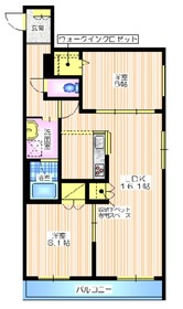 プランドール鎌倉イースト3階Fの間取り画像