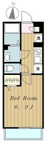 リブリSAKAEⅡ3階Fの間取り画像