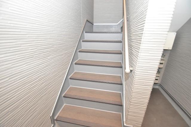 ハーモニーテラス新今里Ⅱ この階段を登った先にあなたの新生活が待っていますよ。