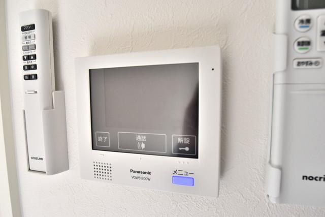 ハーモニーテラス西堤楠町 TVモニターホンは必須ですね。扉は誰か確認してから開けて下さいね