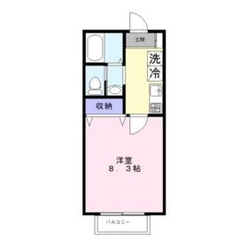 朋久レジデンス(ホウキュウレジデンス)1階Fの間取り画像