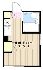 エクシード柿生1階Fの間取り画像