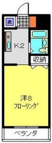 天王町駅 徒歩4分3階Fの間取り画像