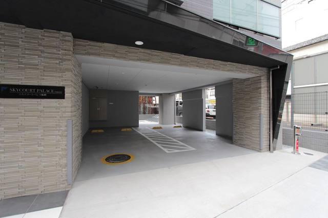 スカイコートパレス板橋駐車場