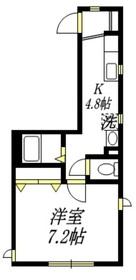 アレイ プレジオ1階Fの間取り画像