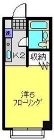 ポートヒルズ3階Fの間取り画像