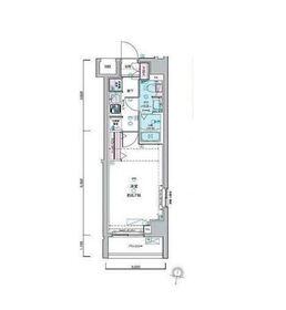 ジェノヴィア荻窪Ⅱスカイガーデン1階Fの間取り画像