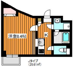 プレール・ドゥーク成増4階Fの間取り画像