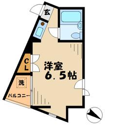 AVENUE21階Fの間取り画像