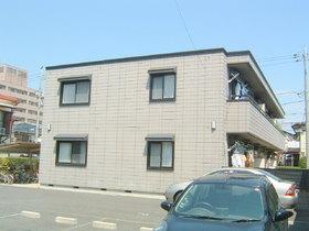 アメニティコート上用賀広い敷地を構え、閑静な住宅地に佇む重厚な外観