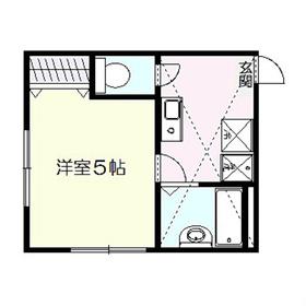 リーヴェルポート戸塚II1階Fの間取り画像
