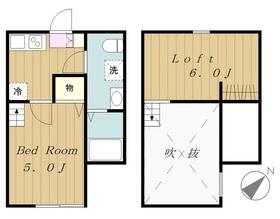 Cozy House相模原 コージーハウスサガミハラ2階Fの間取り画像