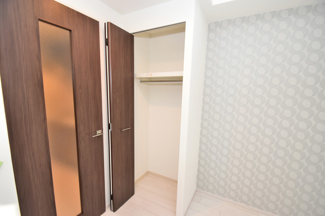 スプランディッド北巽 もちろん収納スペースも確保。いたれりつくせりのお部屋です。