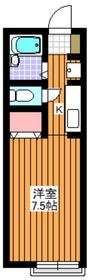平和台駅 徒歩20分1階Fの間取り画像