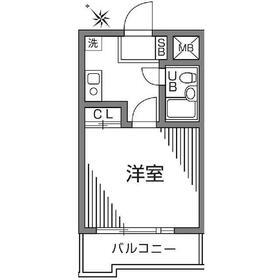 ビエント宮崎台2階Fの間取り画像