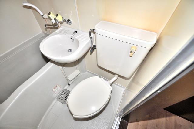 レスポワール 清潔感たっぷりのトイレです。入るとホッとする、そんな空間。