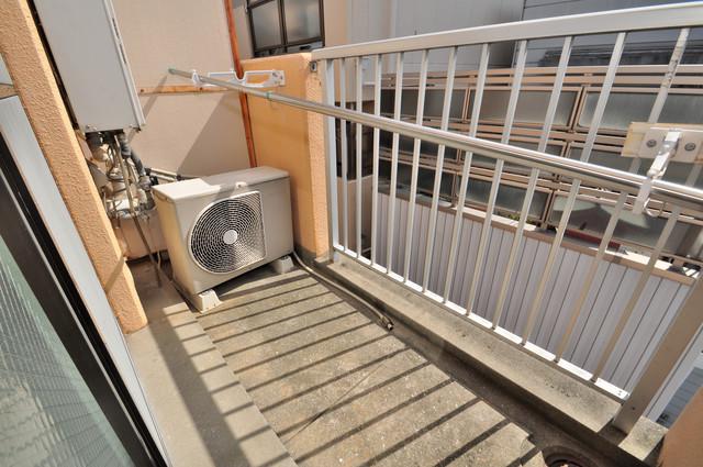グランピア布施 心地よい風が吹くバルコニー。洗濯物もよく乾きそうです。