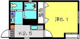 川崎大師駅 徒歩15分1階Fの間取り画像