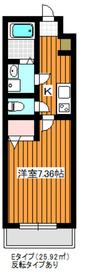 ディアレイシャス成増1階Fの間取り画像