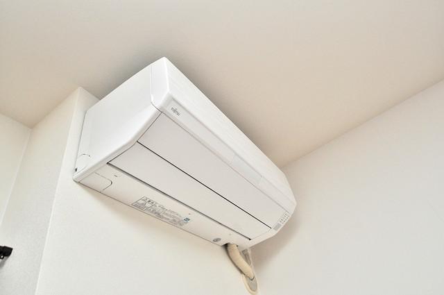 カーサ布施Ⅱ エアコンが最初からついているなんて、本当に助かりますね。