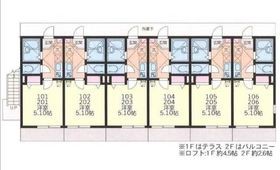 ルチェンテS1階Fの間取り画像