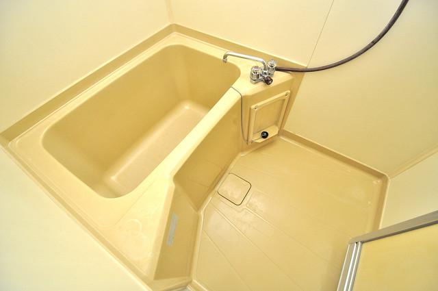 メゾン・ワンダー 機能的なバスルームはトイレと別々なので、広々としていますよ。