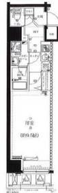 馬喰横山駅 徒歩2分8階Fの間取り画像