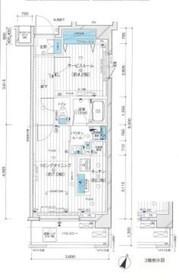 メインステージ横濱黄金町7階Fの間取り画像