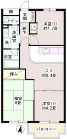 パーク・ハイム上井草1階Fの間取り画像