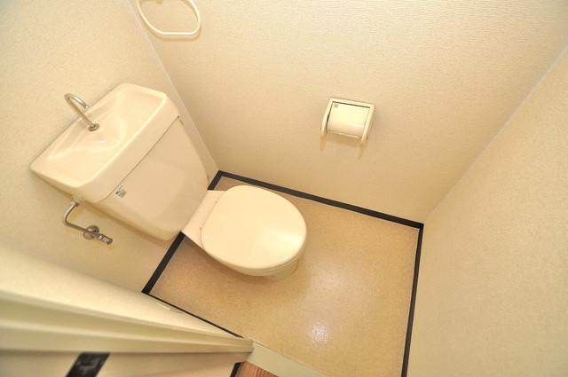 イスタナ・フセ 清潔感のある爽やかなトイレ。誰もがリラックスできる空間です。