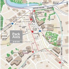 赤坂見附駅 徒歩3分案内図