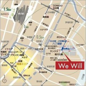 We Will 八丁堀案内図