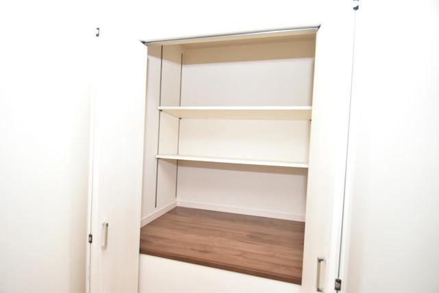 ハイツ ニッサク  大容量のクローゼットは荷物が多い方も安心ですよ。