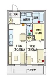へーベルVillage竹ノ塚3階Fの間取り画像