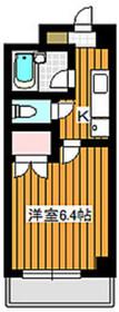 地下鉄赤塚駅 徒歩6分3階Fの間取り画像