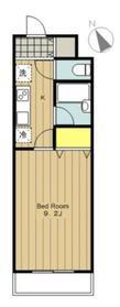 鹿沼台ヒーローマンション2階Fの間取り画像