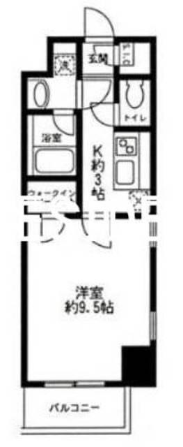 岩本町駅 徒歩3分間取図