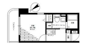 グリフィン横浜・海岸通5階Fの間取り画像