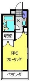 第2野本ビル1階Fの間取り画像