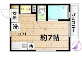 スクウェア二俣川1階Fの間取り画像