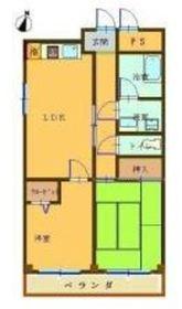ジョイポート青木4階Fの間取り画像