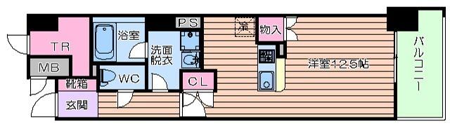 15階の間取り図