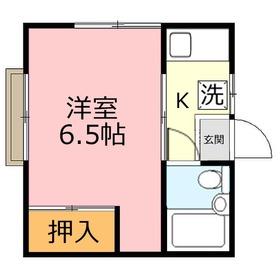 ルミナス上福岡2階Fの間取り画像
