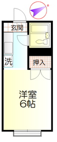 南平駅 徒歩3分2階Fの間取り画像