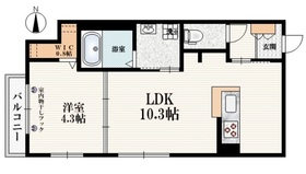 Maison Kitami2階Fの間取り画像