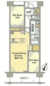 京王多摩センター駅 徒歩15分8階Fの間取り画像