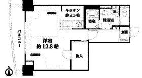 河田町コンフォガーデン1号棟7階Fの間取り画像