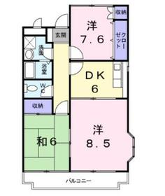 南町田駅 徒歩20分2階Fの間取り画像